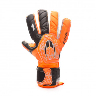 Guante HO Soccer One Negative Extreme Orange-Black