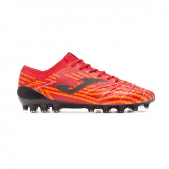 Zapatos de fútbol Joma Propulsion Lite AG Red-Black