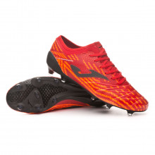 Chaussure de foot Propulsion Lite FG Red-Black