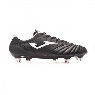 Football Boots Joma Aguila Pro SG Black-White