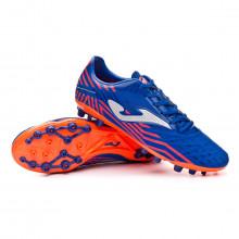 Chaussure de foot Propulsion AG Blue-Orange