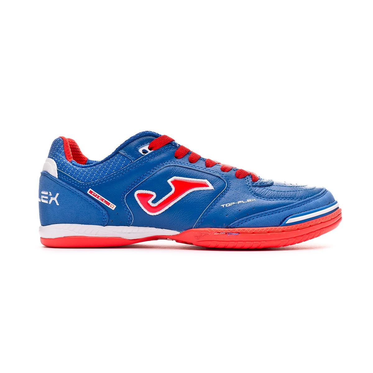 Joma Top Flex Blue-Orange Chaussure de Futsal