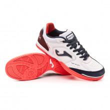 Chaussure de futsal Top Flex White-Navy