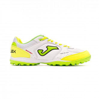 Zapatilla Joma Top Flex White-Yellow