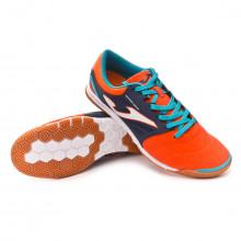 Futsal Boot Cancha Orange-Navy
