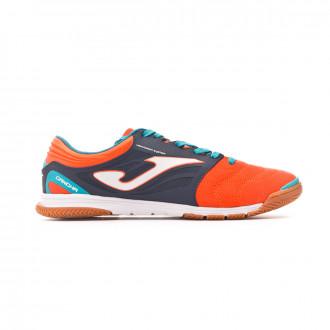 Chaussure de futsal  Joma Cancha Orange-Navy