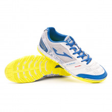 Futsal Boot Mundial White-Blue