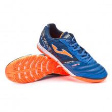 Futsal Boot Mundial Blue-Orange