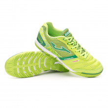 Futsal Boot Mundial Lime-Green