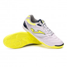 Chaussure de futsal Dribling White-Yellow