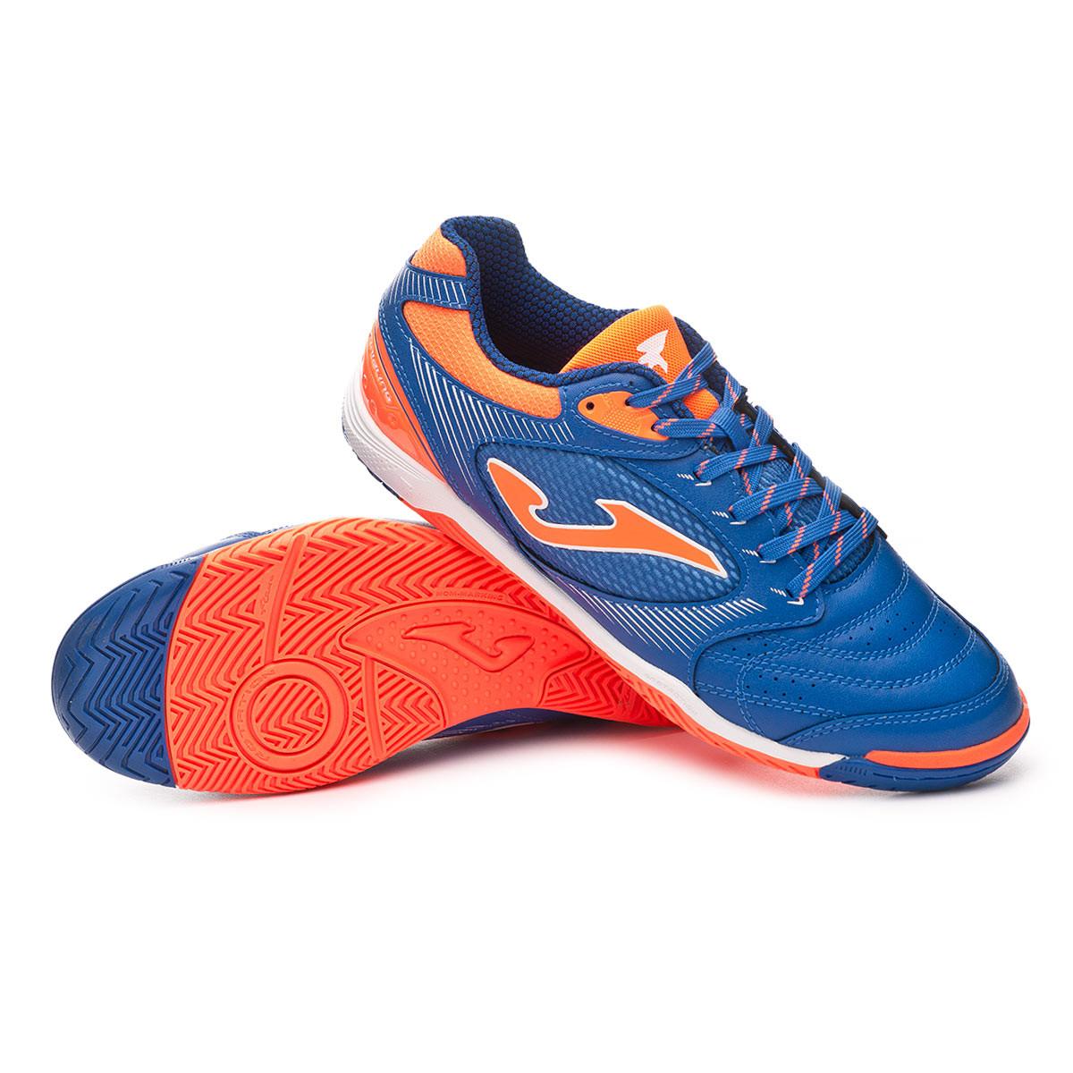the latest 8e257 56799 Zapatilla Dribling Blue-Orange