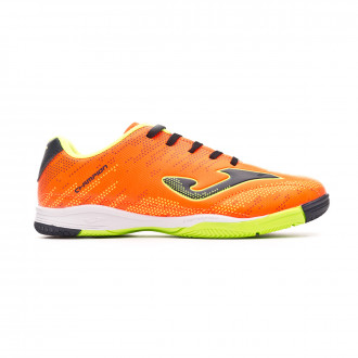 Sapatilha de Futsal  Joma Champion Niño Orange-Navy