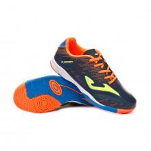 Futsal Boot Champion Niño Navy-Orange
