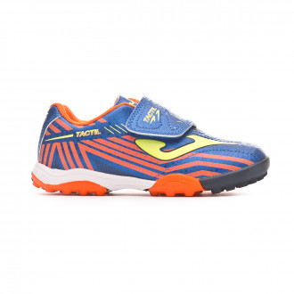Futsal Boot  Joma Tactil Niño (Velcro) Blue-Yellow