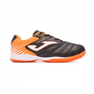 Zapatilla Joma Toledo Niño Black-Orange-White