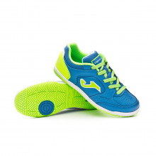 Futsal Boot Kids Top Flex  Blue-Green