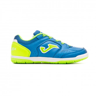 Sapatilha de Futsal  Joma Top Flex Niño Blue-Green