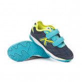 Chaussure de futsal Goleiro Sala V Enfant Bleu marine-Turquoise