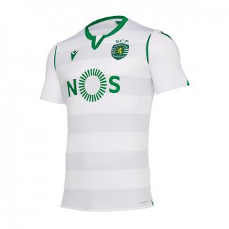Jersey Macron Sporting Lisboa Tercera Equipación 2019-2020 White