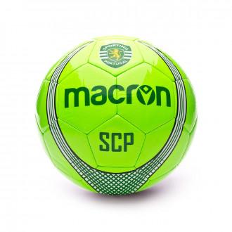 Balón Macron Sporting Lisboa 2019-2020 White-Green