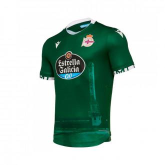 Maglia Macron RC Deportivo La Coruña Secondo completo 2019-2020 Green