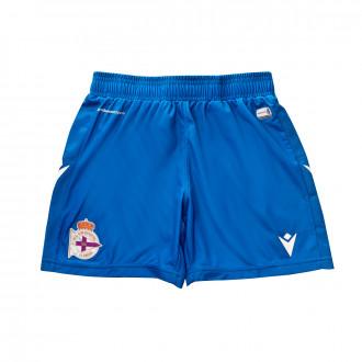Short Macron RC Deportivo La Coruña Domicile 2019-2020 Enfant Blue