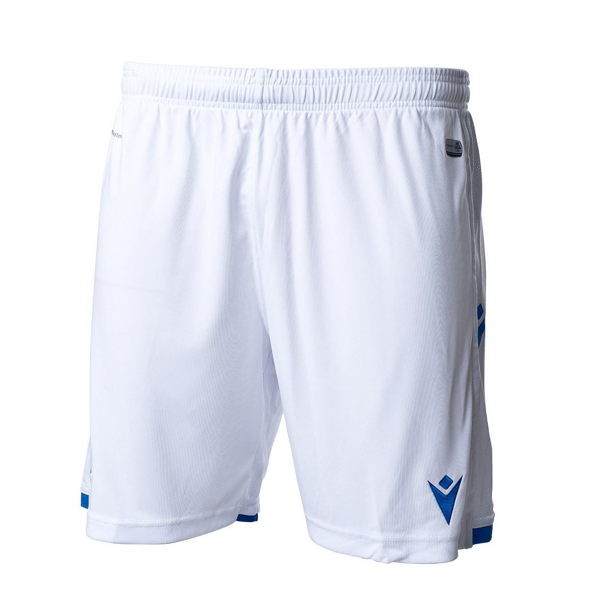 Pantal/ón Corto Macron RC Deportivo La Coru/ña Segunda Equipaci/ón 2019-2020 Ni/ño Blue