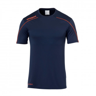 Jersey  Uhlsport Stream 22 m/c Navy blue-Fluorescent red