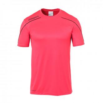 Camiseta  Uhlsport Stream 22 m/c Fucsia-Negro