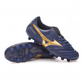 Football Boots Morelia Classic MD Blue depths-Gold