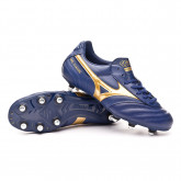 Football Boots Morelia Classic SI Blue depths-Gold
