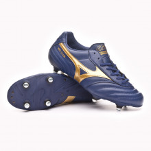 Chuteira Morelia Club SI Blue depths-Gold