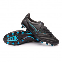 Football Boots Morelia NEO II MD Black-Blue atoll