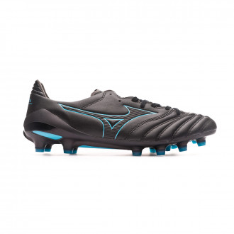 Chaussure de foot Mizuno Morelia NEO II MD Black-Blue atoll