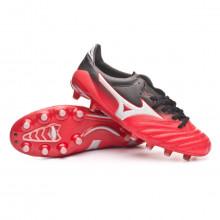 Zapatos de fútbol Morelia NEO II MD Chinese red-Silver-Black
