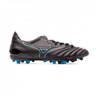 Chaussure de foot Mizuno Morelia NEO KL II AG Black-Blue atoll