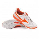 Sapatilha de Futsal Morelia Sala Classic IN Glacier Gray-Red orange