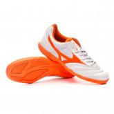 Sapatilha de Futsal Morelia Sala Club IN Glacier grey-Red orange