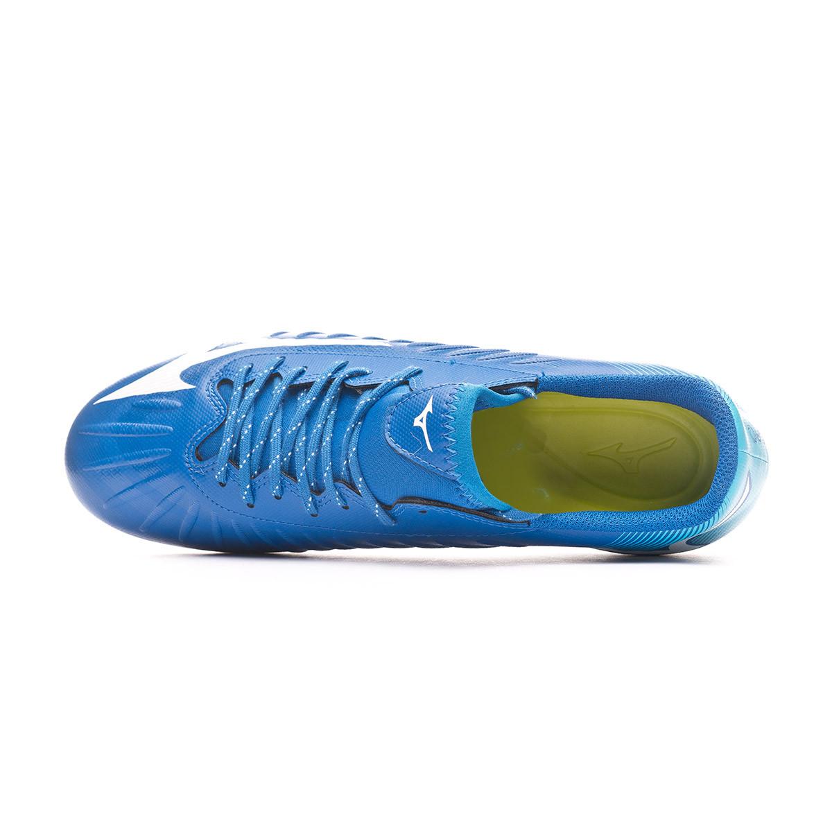 Mizuno Rebula 3 Select Snorkel Blue-White-Atoll Chaussure de Foot