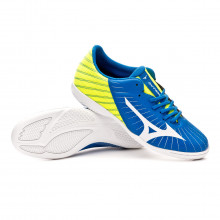 Futsal Boot Rebula Sala Club IN Blue-White-Safety yellow