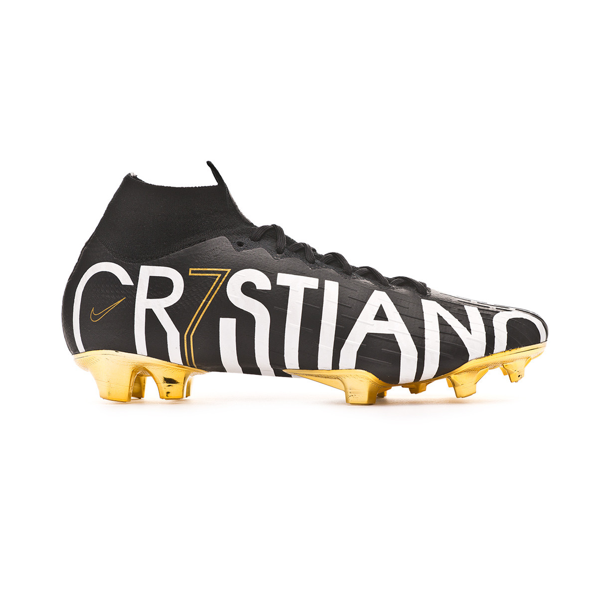ee39f972cb4ee Football Boots Nike Mercurial Superfly VI Elite CR7 Special Edition FG  Black-Metallic vivid gold - Football store Fútbol Emotion