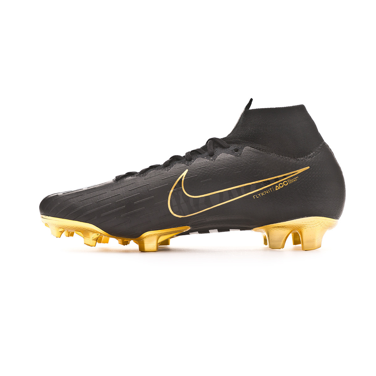 ae13d496b52 Bota Mercurial Superfly VI Elite CR7 Special Edition FG Black-Metallic  vivid gold