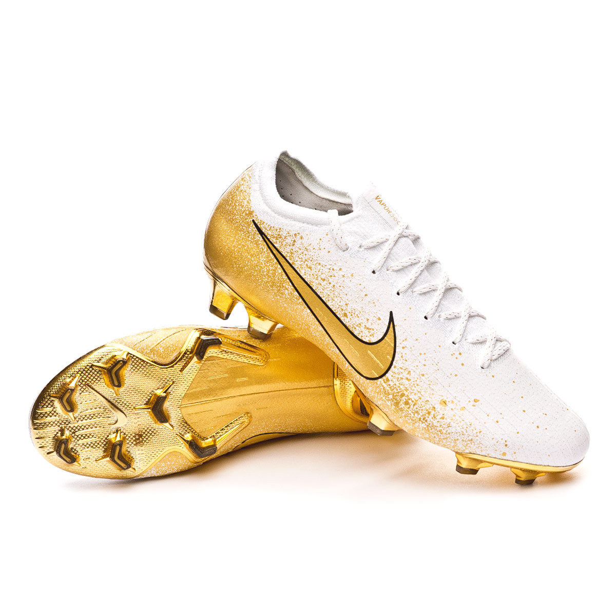 Atlas caloría soplo  Football Boots Nike Vapor XII Elite FG Euphoria Mode Champagne gold -  Football store Fútbol Emotion