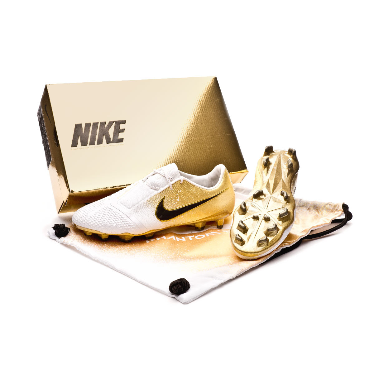 3416886d3 Nike Phantom Venom Elite FG Euphoria Mode Football Boots. Champagne gold ...