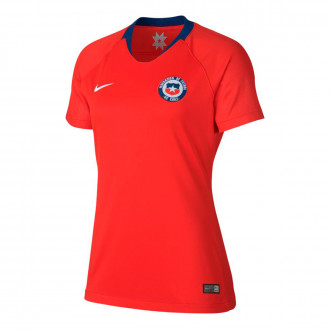 Maillot  Nike Selection Chili Domicile 2019-2020 Femme Red-White