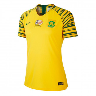 Jersey  Nike Selección South África Primera Equipación 2019-2020 Mujer Tour yellow-Gorge green