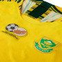 Camiseta Selección South África Primera Equipación 2019-2020 Mujer Tour yellow-Gorge green