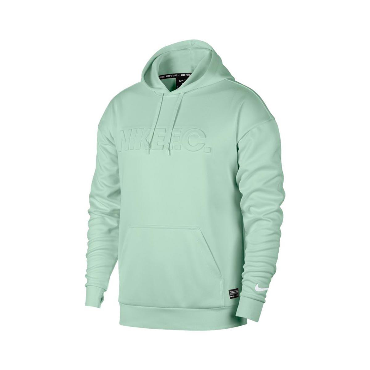 nike swoosh hoodie pink foam/pistachio frost