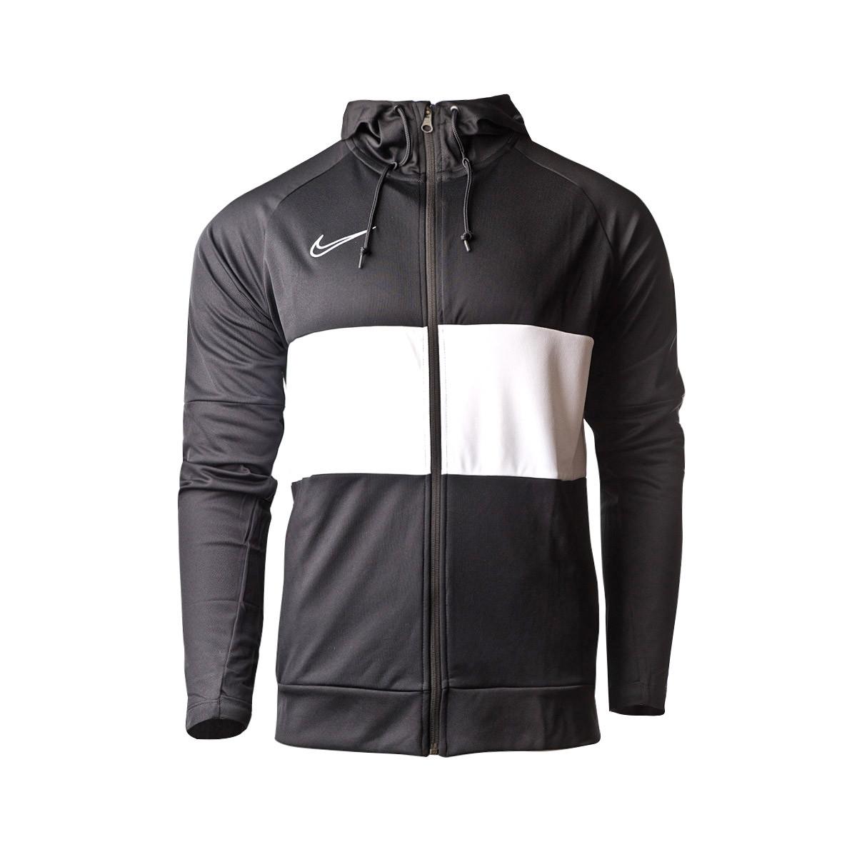 Volverse loco Ocultación prosa  Chaqueta Nike Dry Academy Hoodie I96 Black-White - Tienda de fútbol Fútbol  Emotion
