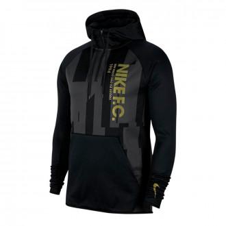 Jacket Nike Nike F.C. Hoodie Black